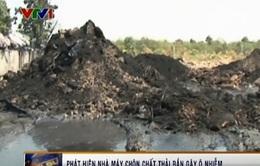 Phát hiện nhà máy chôn chất thải rắn gây ô nhiễm tại Tây Ninh