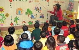 Cho phép thí điểm dạy ngoại ngữ ở mầm non
