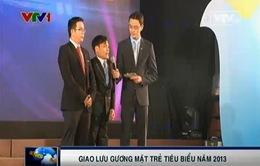 Giao lưu gương mặt trẻ tiêu biểu Việt Nam năm 2013