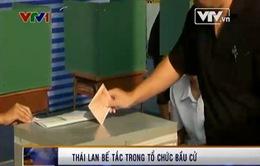 Thái Lan bế tắc trong tổ chức bầu cử