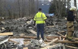 Sạt lở đất kinh hoàng ở Mỹ, số người chết tăng lên 14