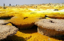 Vẻ đẹp kỳ lạ của các mỏ muối