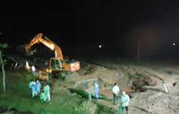 Vỡ đường ống nước sạch Sông Đà: Công tác khắc phục đã hoàn tất