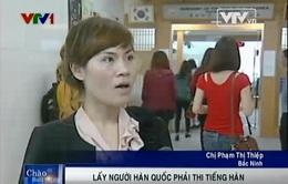 Cô dâu Việt lấy chồng Hàn Quốc phải thi sát hạch tiếng Hàn