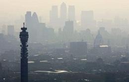 Anh ban bố cảnh báo ô nhiễm không khí