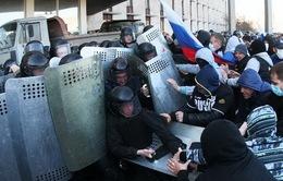 Ukraine: Bùng phát biểu tình tại miền Đông, Tổng thống tạm quyền triệu tập họp khẩn