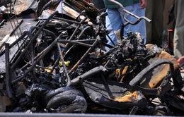 Cháy tiệm tạp hóa ở Quận 6, hai vợ chồng tử vong