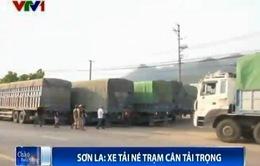 Sơn La: Xe tải né trạm cân trọng tải