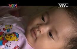 Cháu Mai Chi (Hải Phòng) mong sự giúp đỡ để phẫu thuật tim