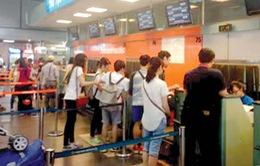 Jestar Pacific chuyển khu vực làm thủ tục tại sân bay Tân Sơn Nhất