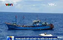 Nhật Bản: Trung Quốc bắt giữ tàu biển có thể gây căng thẳng quan hệ hai nước