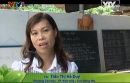 Lớp học tình thương của vợ chồng cô giáo Trần Thị Hà Duy tại Đồng Nai