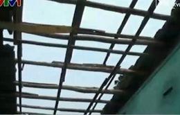 Đang thi công trụ cầu Gia Phú, một công nhân bị lũ ống cuốn trôi