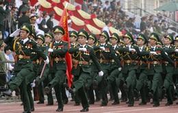 Sôi động không khí trước lễ diễu binh, diễu hành kỷ niệm 60 năm chiến thắng Điện Biên Phủ