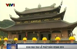 Hôm nay (7/5), bắt đầu Đại lễ Phật đản Vesak 2014