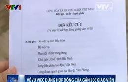 Bắc Ninh phản hồi về việc dừng hợp đồng của gần 300 giáo viên