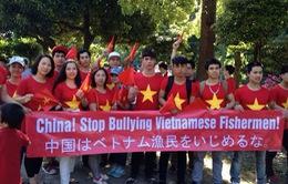 Người Việt tại Nhật Bản tuần hành hòa bình phản đối hành động của Trung Quốc tại Biển Đông