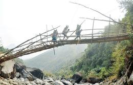 Lai Châu: Hàng chục cầu treo dân sinh, cầu tạm cần dỡ bỏ, làm lại
