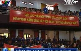 Phản đối Trung Quốc gây hấn tại vùng biển Việt Nam