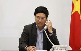 Điện đàm Bộ Ngoại giao Việt Nam - Trung Quốc
