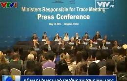 Bế mạc Hội nghị Bộ trưởng Thương mại APEC