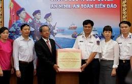 Chủ tịch nước gửi lời thăm hỏi động viên lực lượng Cảnh sát biển và kiểm ngư