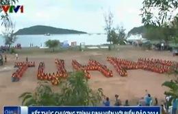 """Kết thúc chương trình """"Sinh viên với biển đảo Tổ quốc 2014"""""""