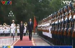 Tổng thống Azerbaijan thăm Việt Nam