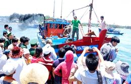 Nhiều tổ chức hỗ trợ ngư dân Quảng Ngãi bị tàu Trung Quốc tấn công