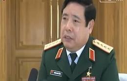 Nội dung cuộc tiếp xúc song phương giữa Bộ trưởng Quốc phòng Việt Nam với Bộ trưởng Quốc phòng Trung Quốc