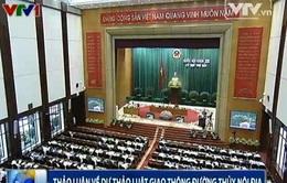 Quốc hội thảo luận về dự thảo Luật Giao thông đường thủy nội địa