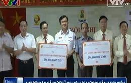 Hơn 13,4 tỉ đồng ủng hộ lực lượng Cảnh sát biển