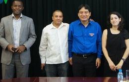 Khai mạc hội nghị Hội đồng điều hành chung Liên đoàn Thanh niên dân chủ Thế giới