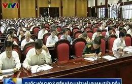 Quốc hội cho ý kiến vào Luật Hải quan (sửa đổi)