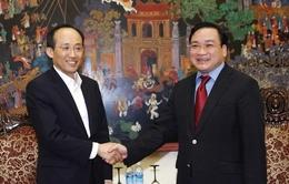 PTT Hoàng Trung Hải tiếp Thứ trưởng Bộ Chiến lược và Tài chính Hàn Quốc
