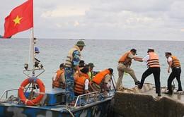Hải quân Việt Nam - Philippines giao lưu trên đảo Song Tử Tây