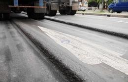 Bộ GTVT lập tổ nghiên cứu xử lý lún nứt mặt đường