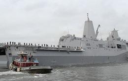 Mỹ điều thêm quân và tàu chiến tới Vùng Vịnh