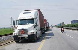 Tăng cường xử phạt vi phạm giao thông trên Quốc lộ 1A