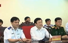 Chủ tịch nước thăm lực lượng Cảnh sát Biển và Kiểm ngư Việt Nam
