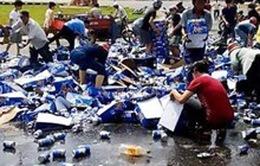"""Phạt tù hai đối tượng tham gia vụ """"hôi bia"""" tại tỉnh Đồng Nai"""