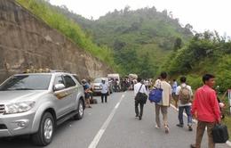 Sơn La: Quốc lộ 279 bị sụt lún, ách tắc giao thông kéo dài
