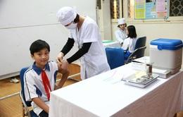 Triển khai chiến dịch tiêm vaccine sởi - rubella trong trường học