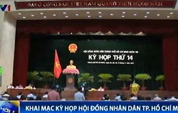 Khai mạc kỳ họp lần thứ 14 của Hội đồng Nhân dân TP.HCM