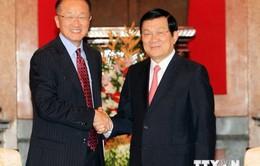 Chủ tịch nước tiếp Chủ tịch Ngân hàng Thế giới