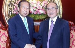 Chủ tịch Quốc hội tiếp Chủ tịch Ủy ban Ngân sách Hạ viện Nhật Bản