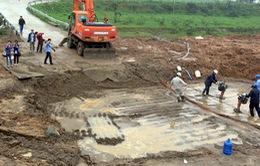 Vỡ đường ống Sông Đà do chất lượng ống dẫn nước không đồng đều
