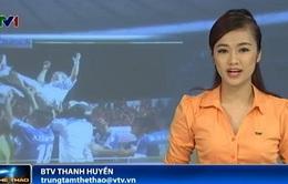 Bản tin Thể thao trưa ngày 4/8/2014