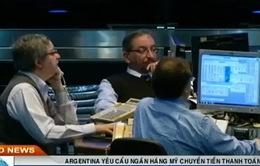 Argentina yêu cầu ngân hàng Mỹ chuyển tiền thanh toán nợ