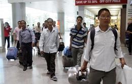 25 công nhân lao động Việt Nam ở Libya đã trở về nước